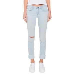 rag & bone Dre in Glena Mid-rise Slim